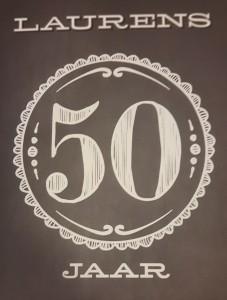 Laurens 50 jaar